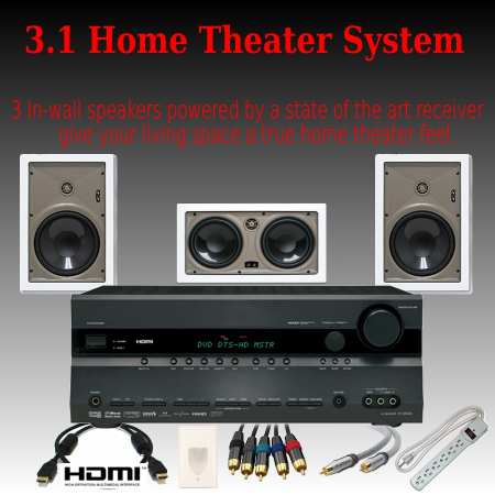 3 1 deluxe home theater system. Black Bedroom Furniture Sets. Home Design Ideas